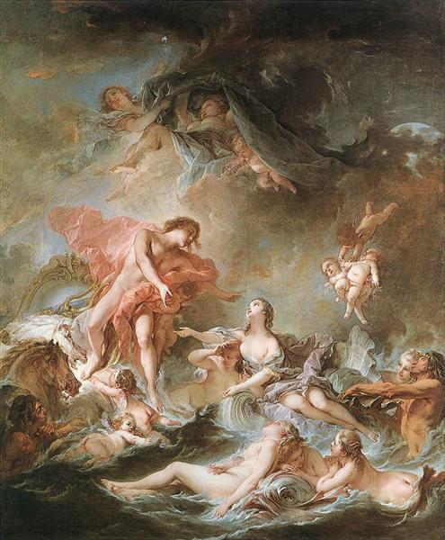 Sonnenuntergang, 1752 - François Boucher