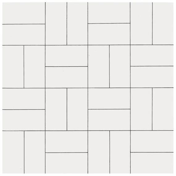 32 Rectangles, 1953 - Francois Morellet