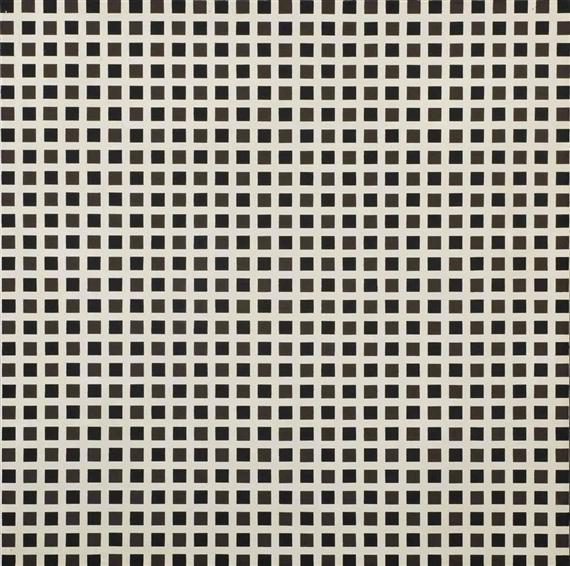 Répartition régulière de carrés, 1971 - Francois Morellet