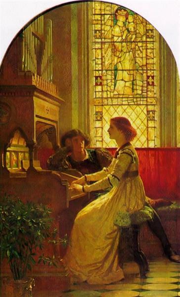 Harmony, 1877 - Frank Dicksee