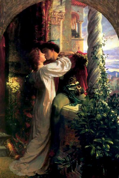 Romeo and Juliet, 1884 - Frank Dicksee