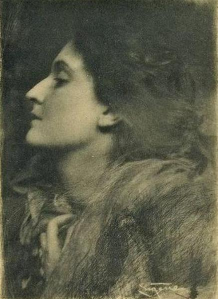 Lady of Charlotte, 1900 - Frank Eugene