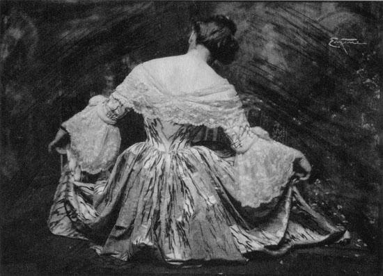 Woman in Dress - Frank Eugene
