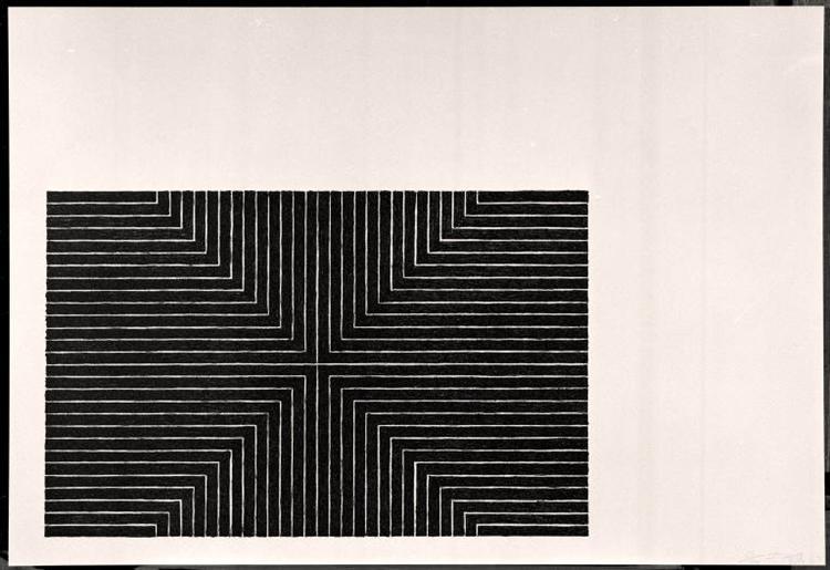 Arbeit Macht Frei, 1967 - Frank Stella