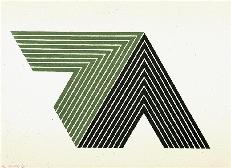 Ifafa II, 1967 - Frank Stella