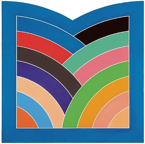 Kufa Gate, 1968 - Frank Stella