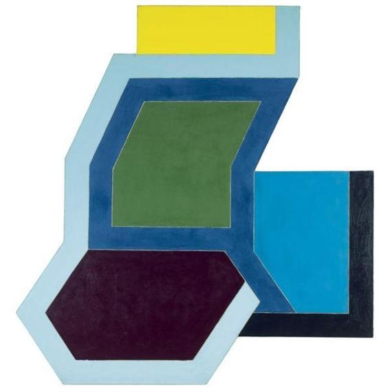 Sunapee I, 1966 - Frank Stella