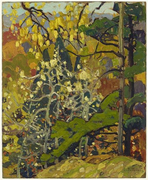 Autumn Splendor - Franklin Carmichael