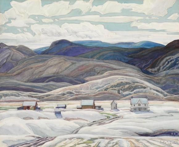 Bisset Farm, 1933 - Franklin Carmichael
