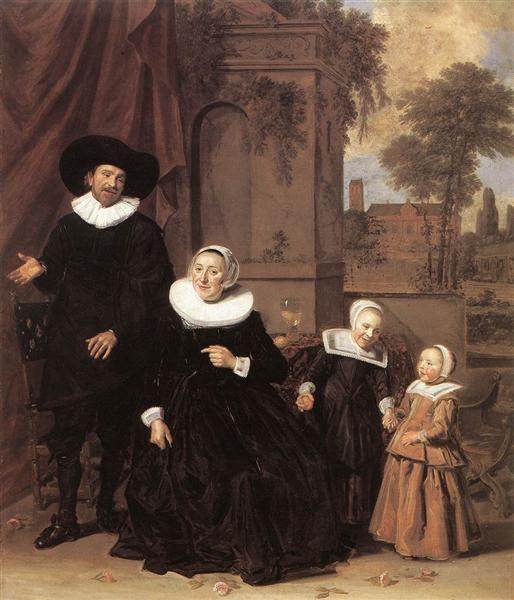 Family portrait - Frans Hals