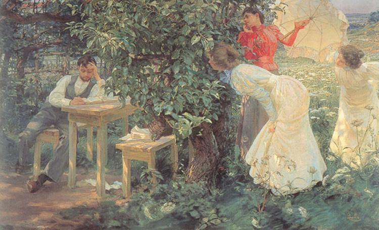 The Book Lover, 1897 - Франтишек Купка