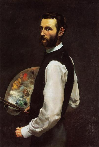 Self-Portrait, 1865 - 1866 - Frederic Bazille