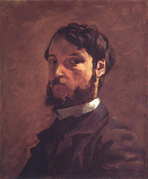 Self-Portrait, 1867 - 1868 - Frederic Bazille