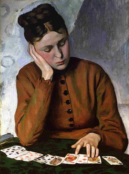 The Fortune Teller, c.1869 - Frederic Bazille