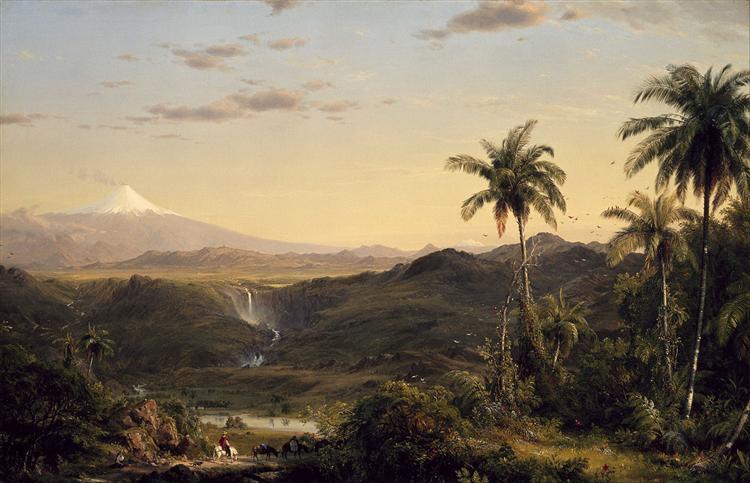 Cotopaxi, 1855 - Frederic Edwin Church