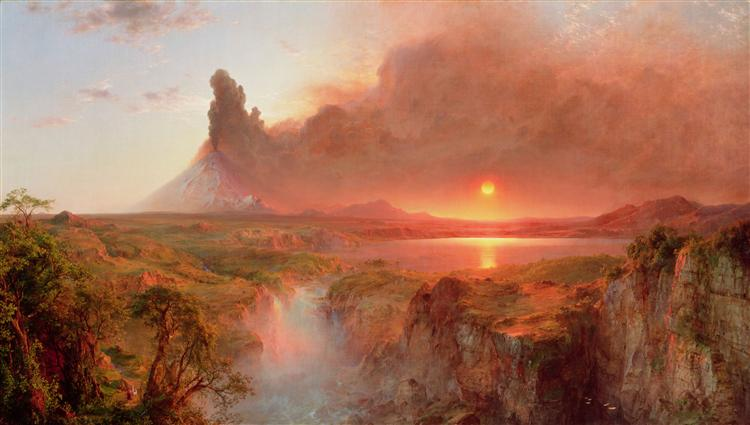 Cotopaxi, 1862 - Frederic Edwin Church