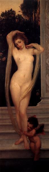 A Bather - Frederic Leighton