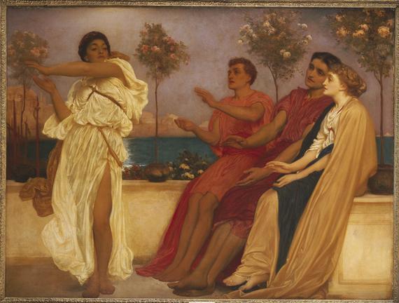 Greek Girl Dancing - Frederic Leighton
