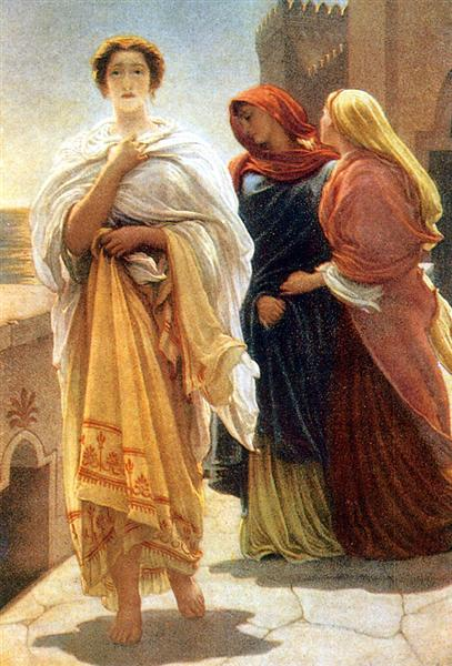 Helen on the Walls of Troy - Frederic Leighton