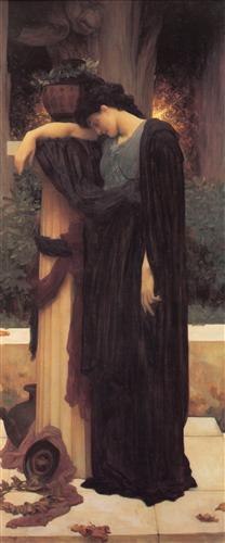 Lachrymae - Frederic Leighton
