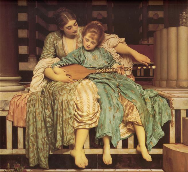 The Music Lesson, 1877 - Frederic Leighton