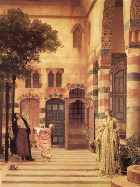 Old Damascus, 1874 - Frederic Leighton