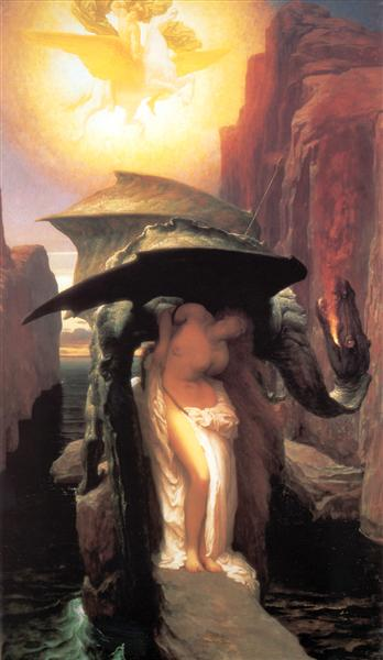 Perseus and Andromeda, 1891 - Frederic Leighton