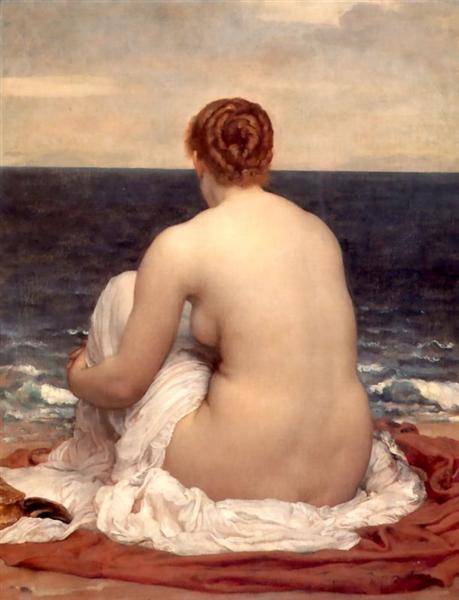 Psamathe, c.1880 - Frederic Leighton