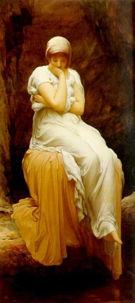 Solitude, c.1890 - Frederic Leighton