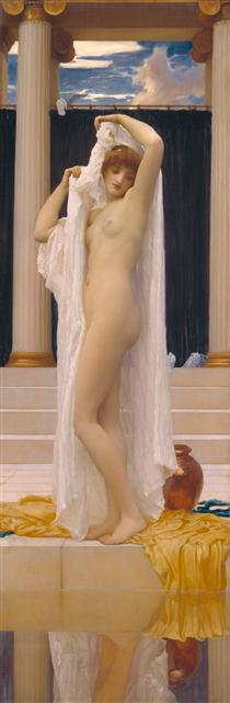 The Bath of Psyche - Frederic Leighton
