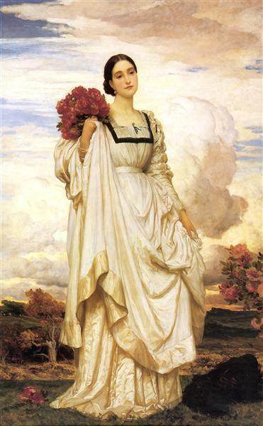 The Countess Brownlow, 1879 - Frederic Leighton