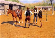 Buying Polo Ponies in the West - Фредерик Ремингтон