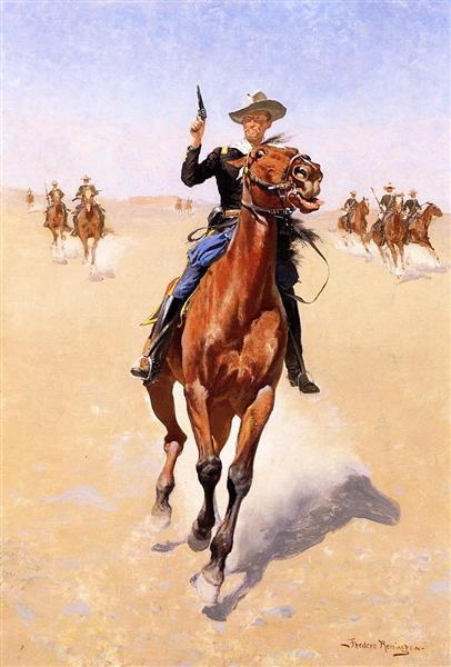 The Trooper - Frederic Remington