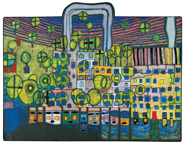 839 The Third Skin, 1982 - Friedensreich Hundertwasser