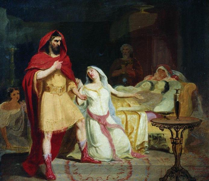 The Return of Ulysses to his home - Fyodor Bronnikov
