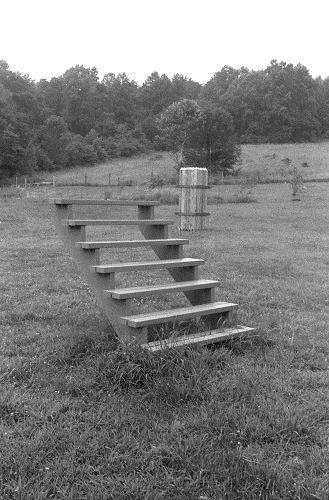 Stair Piece, 1963 - Gary Kuehn
