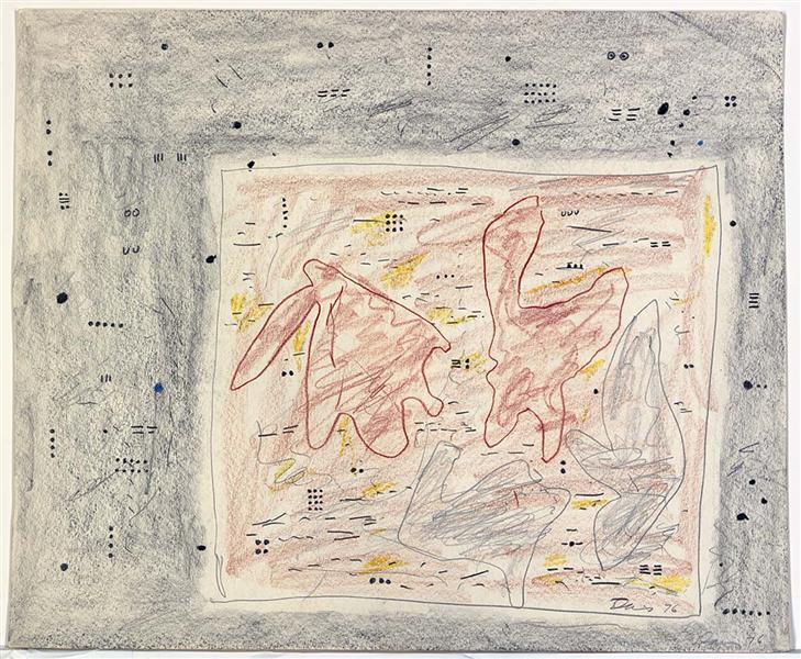 Eskimo Map, 1976 - Gene Davis