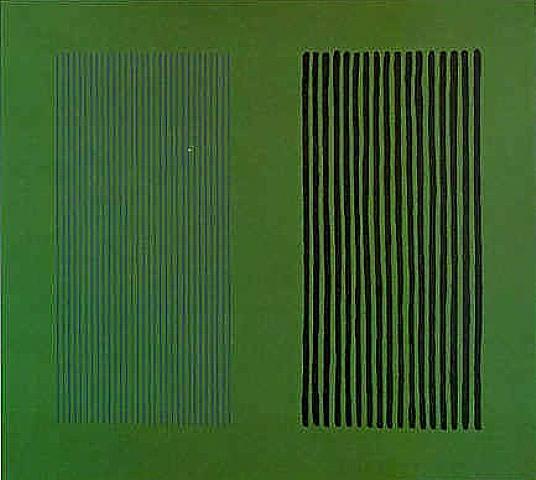 Green Giant, 1980 - Gene Davis
