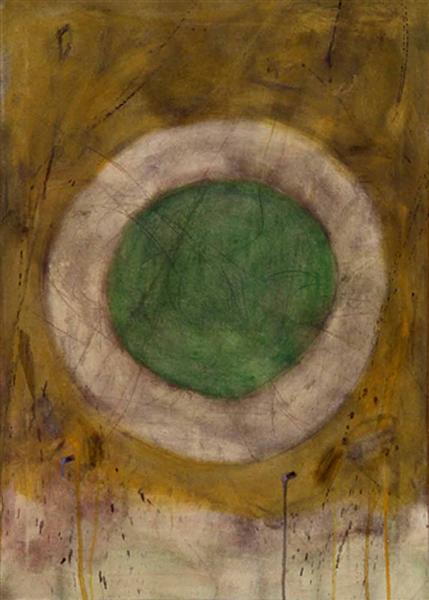 Green Glow, 1958 - Gene Davis