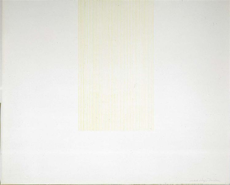 Untitled #1, 1971 - Gene Davis