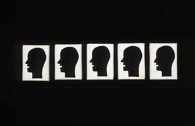 Untitled (MP21-25) - Gene Davis