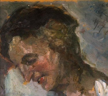 Portrait of painter's wife, 1917