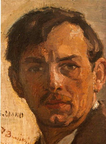 Self Portrait, 1913 - George Bouzianis