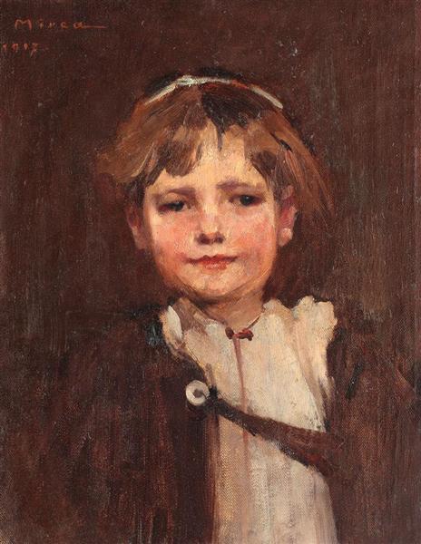 Boy from Ardeal, 1917 - George Demetrescu Mirea