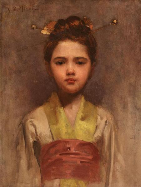 Little Japanese Girl - George Demetrescu Mirea