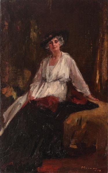 Princess Aristizza Ghyka, 1918 - George Demetrescu Mirea