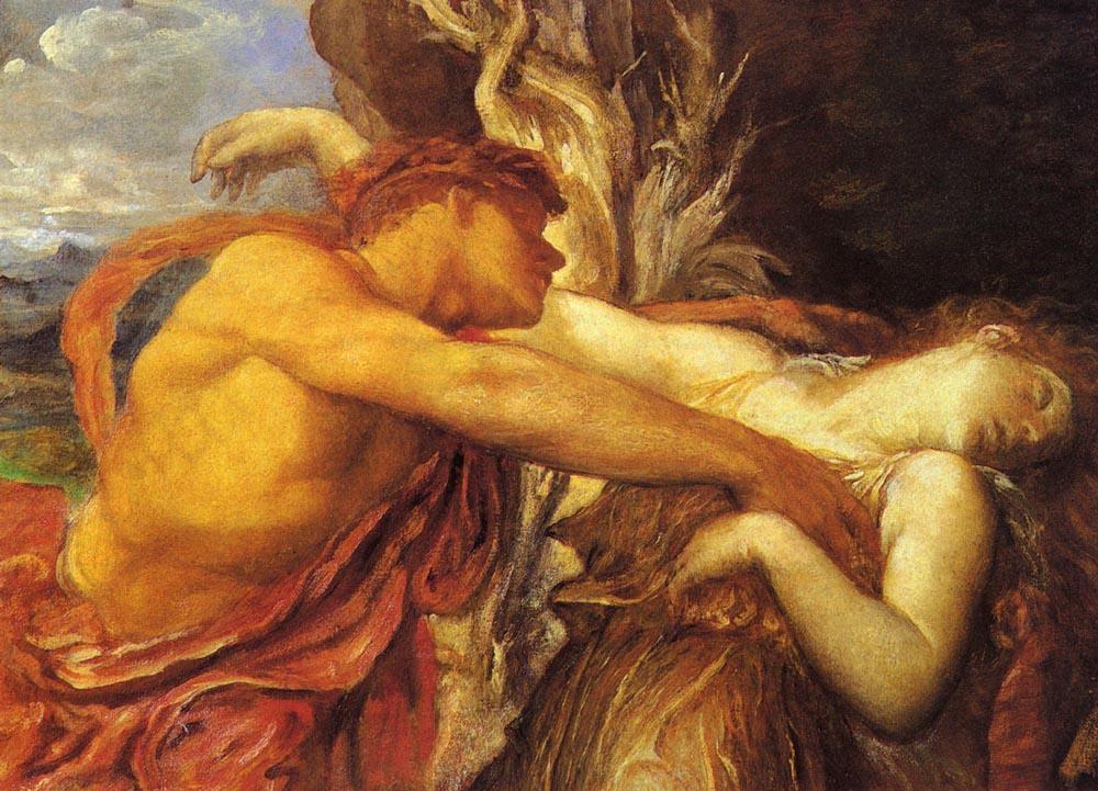Orpheus and eurydice george frederick watts biblioklept for Alexandre dujardin