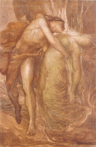 Orpheus and Eurydice - George Frederick Watts