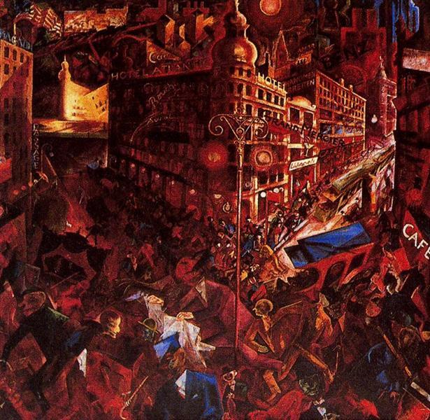 The City, 1916 - 1917 - George Grosz