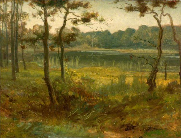 Landscape, 1869 - George Hemming Mason